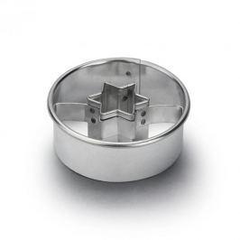 Foremka / Wykrawacz do ciastek i pierników metalowy GWIAZDKA 4,5 cm