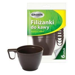 Komplet 6 filiżanek jednorazowych SOUP 200 ml