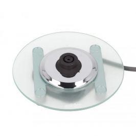 Czajnik elektryczny bezprzewodowy OPTIMUM TRANSPARENT SREBRNY 1,7 l