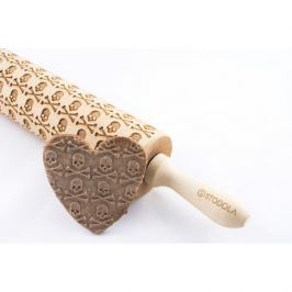 Wałek dekoracyjny do ciasta drewniany STODOLA CZASZKI