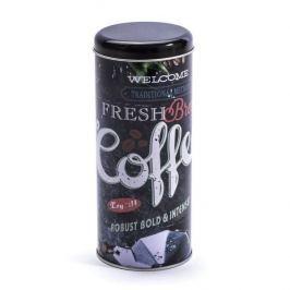 Puszka na kawę metalowa AMSTERDAM COFFEE CZARNA 0,75 l