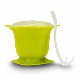 Zestaw do fondue z kuchenki mikrofalowej plastikowy CUISY ZIELONY