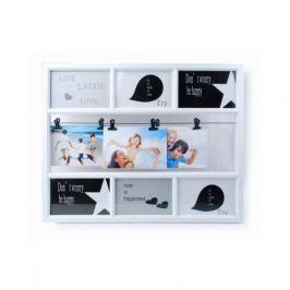 Ramka na zdjęcia plastikowa MONDEX PHOTO COLLAGE BIAŁA 38 x 47,5 cm
