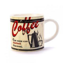 Kubek ceramiczny boss z napisem DUO ALL COOL COFFEE KREMOWY 400 ml