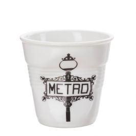 Kubek do espresso porcelanowy REVOL FROISSES METRO BIAŁY 80 ml