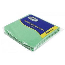 Serwetki papierowe gastronomiczne zielone DISPOSABLE 200 szt.
