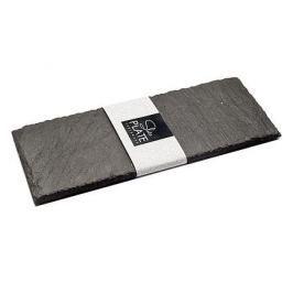 Talerz kamienny do serwowania SLATEPLATE NATURAL 10 x 20 cm