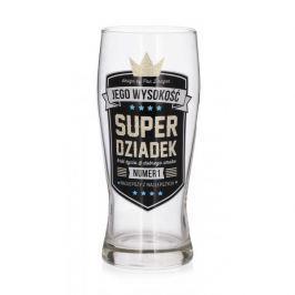 Szklanka do piwa PAN DRAGON ROYAL DZIADEK 610 ml