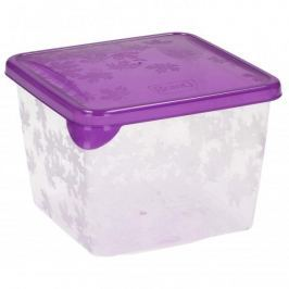 Pojemnik plastikowy na żywność BRANQ RUKKOLA KWADRAT MIX KOLORÓW 0,8 l