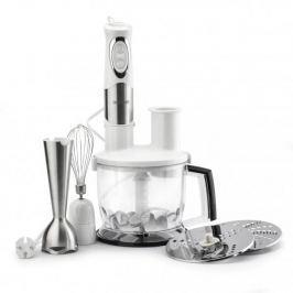 Blender kuchenny ręczny ze stali nierdzewnej z akcesoriami OPTIMUM BIAŁY (6 el.) 700 W