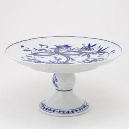 Patera stała na ciasto porcelanowa KAHLA ROSSELLA ZWIEBELMUST BIAŁA 23,5 cm