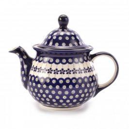 Dzbanek do herbaty i kawy ceramiczny GU-943 DEK. 166A Bolesławiec 1,7 l
