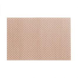 Mata stołowa / Podkładka na stół plastikowa KELA PLATO BEŻOWA 45 x 30 cm