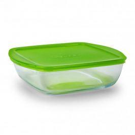 Naczynie szklane żaroodporne kwadratowe PYREX 2,2 l