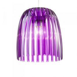 Lampa sufitowa plastikowa KOZIOL JOSEPHINE M FIOLETOWA
