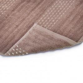 Ręcznik kąpielowy bawełniany MISS LUCY PAVIA JASNY BRĄZOWY 70 x 140 cm