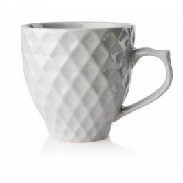 Kubek ceramiczny AFFEK DESIGN DIAMOND LIQUID SZARY 380 ml