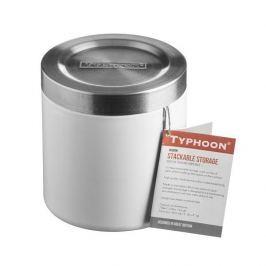 Pojemnik na żywność ze stali nierdzewnej HUDSON BIAŁY 0,6 l