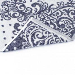 Ręcznik łazienkowy bawełniany MISS LUCY LORIDA DARK NIEBIESKI 50 x 90 cm