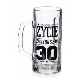 Kufel do piwa szklany FUN 30 - TE URODZINY 600 ml