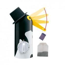 Minutnik do parzenia herbaty plastikowy KUCHENPROFI TEA BOY PINGWIN CZARNY