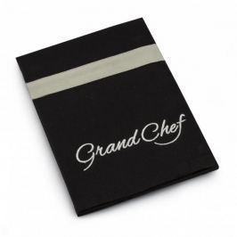 Ręcznik kuchenny bawełniany TESCOMA GRAND CHEF CZARNY 70 x 50 cm