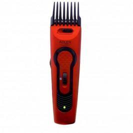 Maszynka do strzyżenia włosów plastikowa ADLER QUALITY CZERWONA