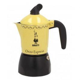 Kawiarka aluminiowa ciśnieniowa do parzenia kawy zbożowej BIALETTI ORZO EXPRESS - kafetiera na 2 filiżanki espresso