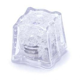 Kostka lodu plastikowa świecąca do drinków wielokrotnego użytku LED II