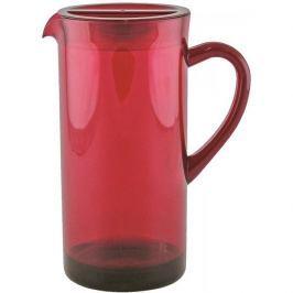 Dzbanek do napojów plastikowy ZAK CZERWONY 1,7 l