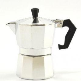 Kawiarka aluminiowa ciśnieniowa BASTIANI ITALIA ALBA - kafetiera na 1 filiżankę espresso