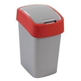 Kosz na śmieci plastikowy CURVER FLIP BIN CZERWONY 25 l