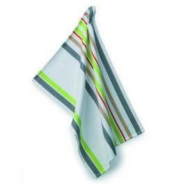 Ręcznik kuchenny bawełniany KELA AMALIE BIAŁY W PASY 70 x 50 cm