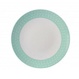 Talerz obiadowy płytki z melaminy MEPAL ARROW GREEN MIĘTOWY 23 cm