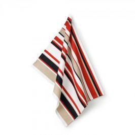 Ręcznik kuchenny bawełniany KELA TEBEA PASKI WIELOKOLOROWY 70 x 50 cm