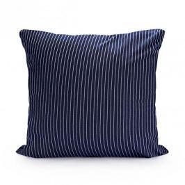 Poszewka na poduszkę ozdobna bawełniana WHALE GRANATOWA 39 x 38,5 cm