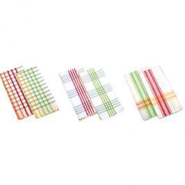 Ręczniki kuchenne bawełniane TESCOMA PRESTO TONE MAŁE KOSTKI 70 x 50 cm  2 szt.