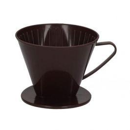 Dripper / Filtr do kawy FACKELMANN BRĄZOWY 12 cm