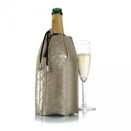Schładzacz do szampana plastikowy VACU VIN PLATIN ZŁOTY