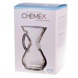 Zaparzacz do kawy szklany CHEMEX COFFEE MAKER GLASS HANDLE 0,9 l