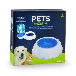 Miska dla psa i kota z wkładem chłodzącym  PETS COLLECTION BIAŁA