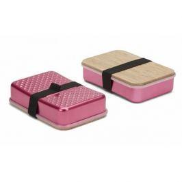 Lunch box aluminiowy BLACK BLUM SANDWICH ON BOARD RÓŻOWY
