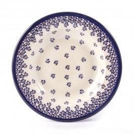 Talerz obiadowy głęboki ceramiczny GU-1419 DEK. 882A Bolesławiec 24 cm