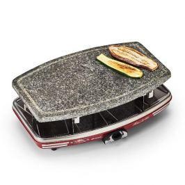 Grill elektryczny raclette aluminiowy z funkcją fondue ARIETE PARTY CZARNY 1100 W