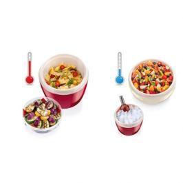 Termos obiadowy plastikowy TESCOMA HOT AND COLD CZERWONY 2,5 l