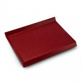 Deska do krojenia plastikowa BRANQ SOLID CZERWONA 32 x 24 cm