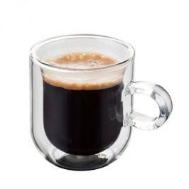 Filiżanki do espresso termiczne z podwójnymi ściankami szklane JUDGE SET 75 ml 2 szt.