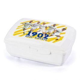 Śniadaniówka / Pojemnik na kanapki plastikowy REAL MADRYT BIAŁA