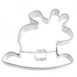 Foremka / Wykrawacz do ciastek i pierników metalowy BIRKMANN RENIFER NA BIEGUNACH 9 cm