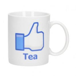 Kubek porcelanowy boss z napisem FACEBOOK TEA 300 ml